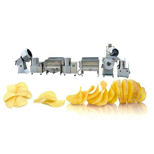 Industrial potato chips cutter/frozen french fries maker/potato french fries making machine #1 image