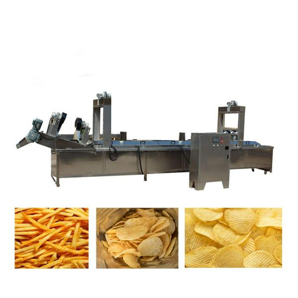 Industrial Potato Chips Industrial Fully Automatic Potato Chips Making Production Line Machine Price Snack Machine #1 image